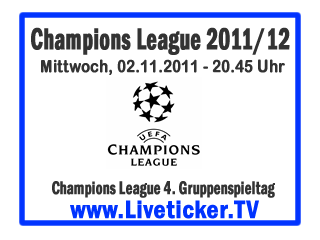 UEFA Champions League, Gruppenphase, 4.Spieltag, Konferenz/Einzelspiele Olympique Lyon – Real Madrid FC Bayern München – SSC Neapel Trabzonspor – ZSKA Moskau Inter Mailand – OSC Lille Benfica Lissabon – FC Basel Ajax Amsterdam – Dinamo Zagreb FC Villarreal – Manchester City Manchester United – Oletul Galati