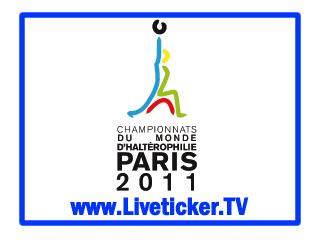 Gewichtheben IWF Weltmeisterschaften in Disneyland Paris, Vorbericht und Liveticker