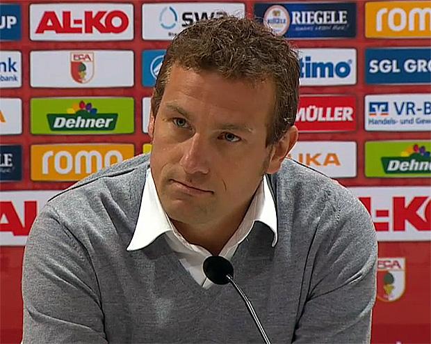Trainer FC Augsburg: Markus Weinzierl