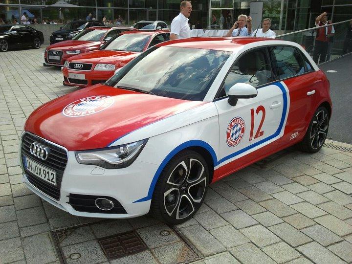 Seit 10 Jahren ein Team: Audi und die Bayern