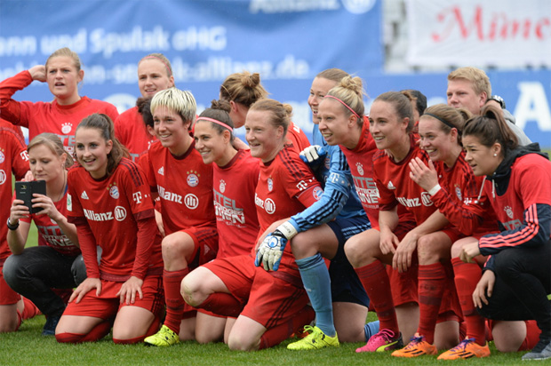 © Ch. Einecke (CEPIX) / Vorzeitige Meisterschaft der Frauen des FC Bayern München