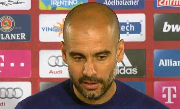 Josep Guardiola FC Bayern München, Trainer