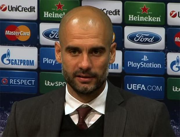 "FC Bayern Trainer, Josep ""Pep"" Guardiola i Sala"