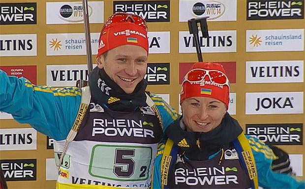 Sergei Semenov und Valj Semerenko aus der Ukraine