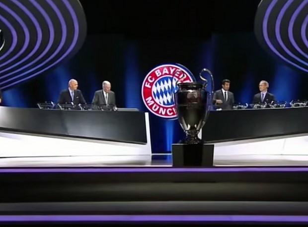 Champions League Auslosung - Halbfianle 2013/14