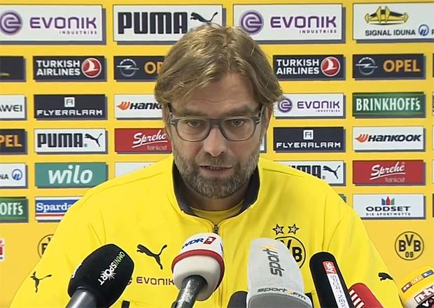 Jürgen Klopp Borussia Dortmund, Trainer