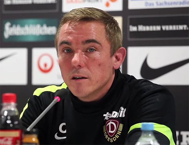 Olaf Janßen - Trainer Dynamo Dresden
