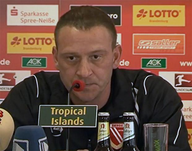 Energie Cottbus Trainer Jörg Böhme