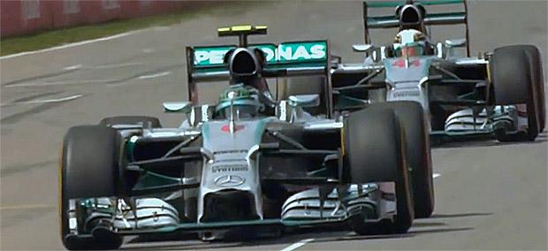 Formel 1: Großer Preis von Deutschland: Das Rennen in Hockenheim