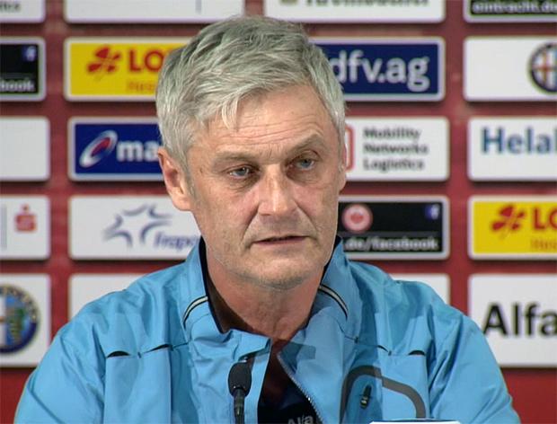 Armin Veh Eintracht Frankfurt, Trainer