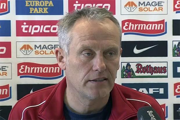 Trainer SC Freiburg: Christian Streich