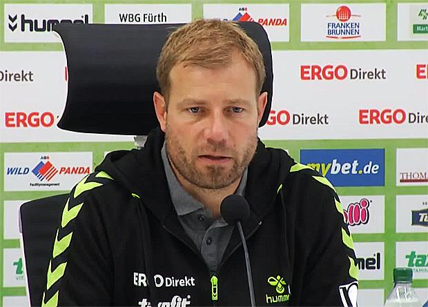 Frank Kramer  SpVgg Greuther Fürth, Trainer