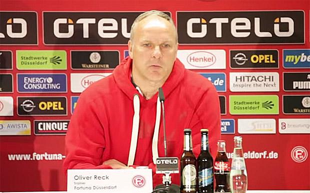 Oliver Reck, Trainer Fortuna Düsseldorf