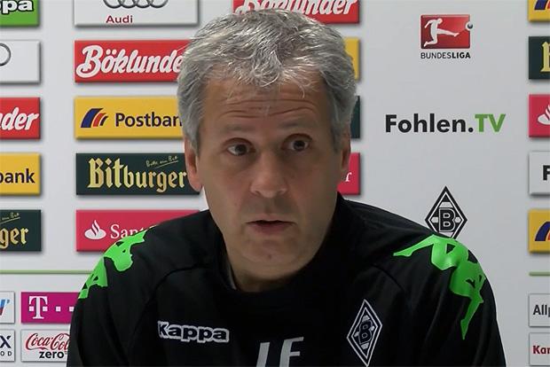 Lucien Favre Borussia Mönchengladbach, Trainer