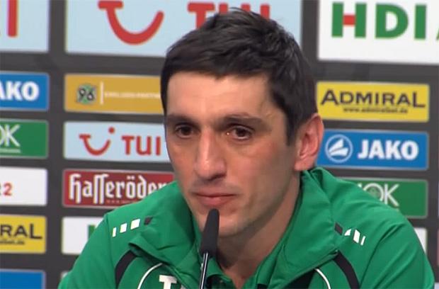 Tayfun Korkut Hannover 96, Trainer