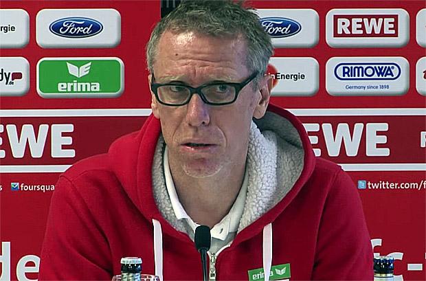 Peter Stöger 1. FC Köln, Trainer