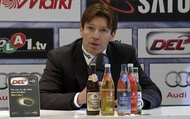 Uwe Krupp Eishockey Trainer Kölner Haie