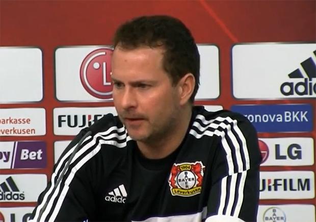 Sascha Lewandowski Bayer 04 Leverkusen, Trainer