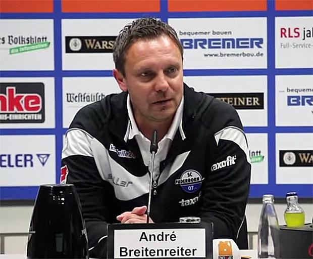 Trainer André Breitenreiter SC Paderborn 07