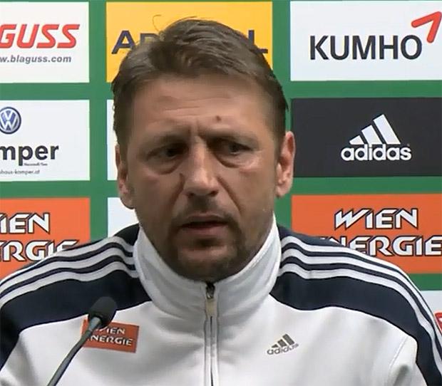 Zoran Barišić SK Rapid Wien, Trainer