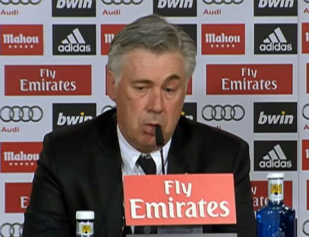 Carlo Ancelotti Real Madrid, Trainer