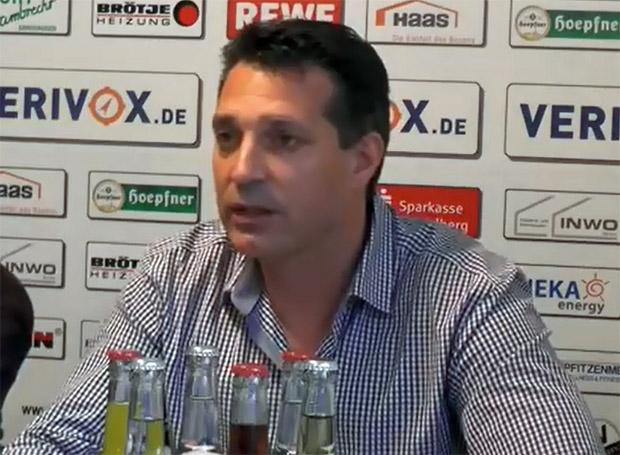 Trainer Alois Schwartz SV Sandhausen
