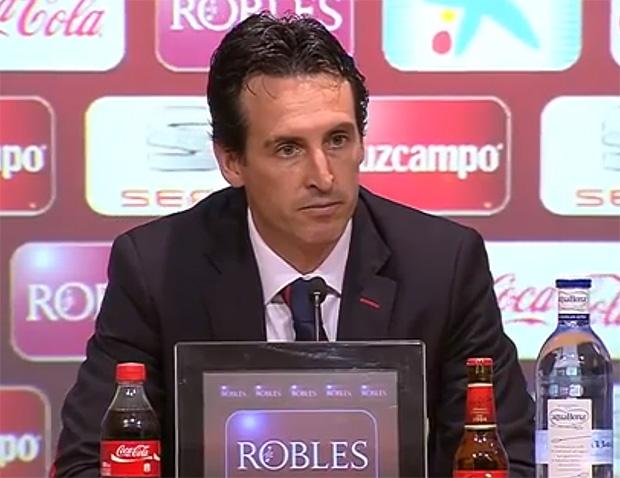 Unai Emery FC Sevilla, Trainer