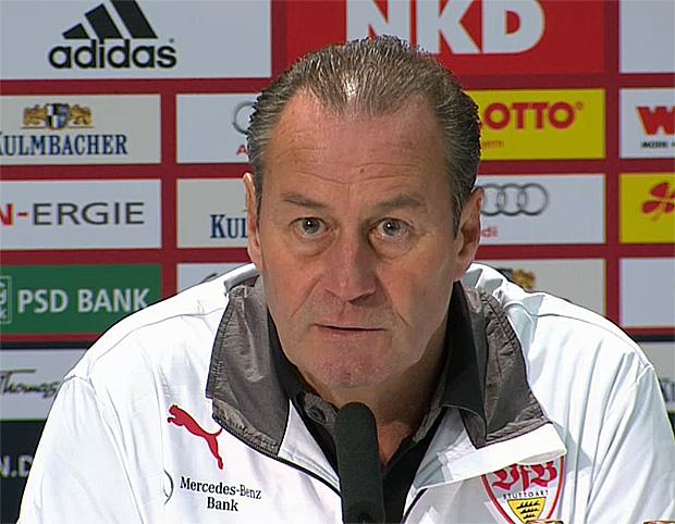 VfB Stuttgart Trainer: Huub Stevens