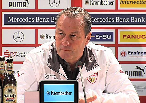 Huub Stevens VfB Stuttgart, Trainer