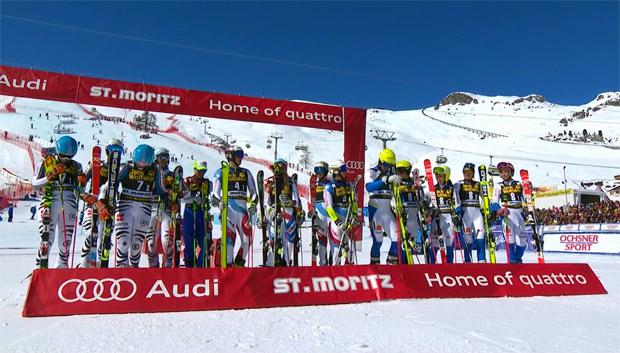 Nationen Team Event 2015/16: Schweiz nutzte Heimvorteil im Teambewerb