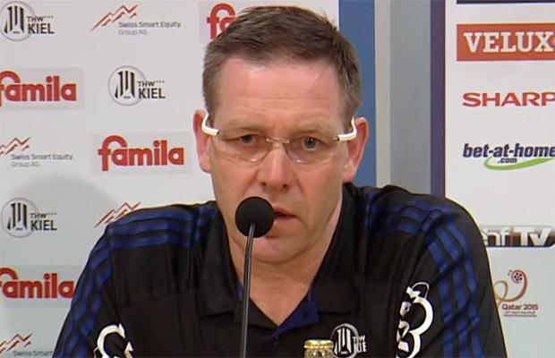 Alfred Gislason (Trainer THW Kiel)