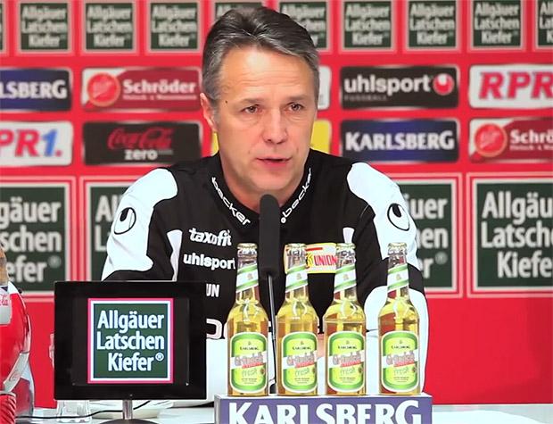 Uwe Neuhaus 1. FC Union Berlin, Trainer