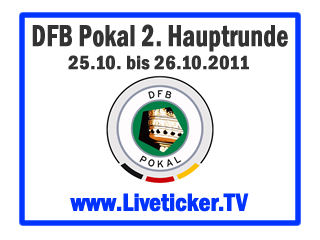 Fussball, Deutschland, DFB-Pokal, 2.Hauptrunde