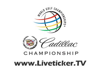 LIVE Golf: Cadillac Championship in Doral, Florida (USA)