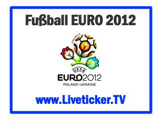 UEFA Euro 2012 in Polen & Ukraine - Auslosung der Vorrundengruppen