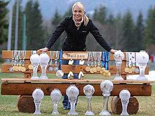 Magdalena Neuner sagt Servus