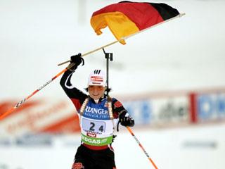 Andrea Henkel - Foto: Karl-Heinz Merl, TV-Sport.de