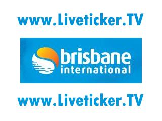 LIVE Tennis: WTA International Tour – Brisbane International (AUS)
