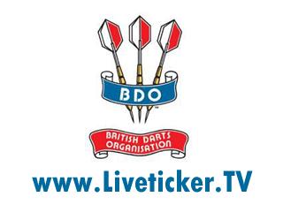 LIVE: Dart, 26. BDO Profi-Weltmeisterschaft 2012 in Frimley Green (ENG)