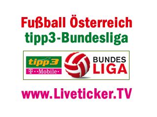 LIVE: SK Puntigamer Sturm Graz - FC Wacker Innsbruck