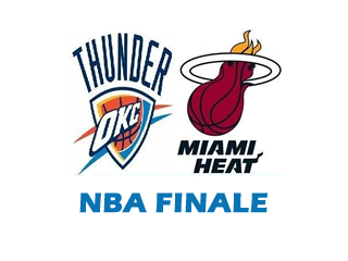 LIVE: Oklahoma City Thunder - Miami Heat, NBA Basketball Finale Spiel 1