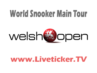 LIVE: World Snooker Main Tour 2011/12 - Welsh Open in Newport