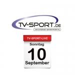 TV-SPORT-LIVE: Sonntag, 10.09.2017