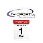 Das TV-Sport Tagesprogramm am Mittwoch, 01.05.2019