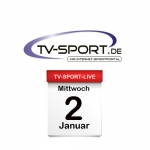 Das TV-Sport Tagesprogramm am Mittwoch, 02.01.2019