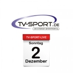 Das TV-Sport Tagesprogramm am Sonntag, 02.12.2018
