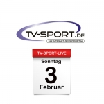 Das TV-Sport Tagesprogramm am Sonntag, 03.02.2019