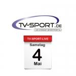 Das TV-Sport Tagesprogramm am Samstag, 04.05.2019
