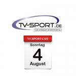 Das TV-Sport Tagesprogramm am Sonntag, 04.08.2019