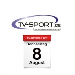 Das TV-Sport Tagesprogramm am Donnerstag, 08.08.2019